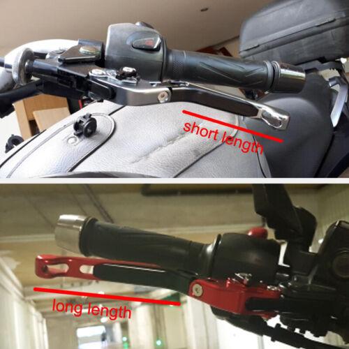 Motorbike Clutch And Brake Lever For Kawasaki Z750//S 04-06 ZR750 Zephyr 91-93