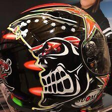SUOMY SR SPORT 2016 MAX BIAGGI TRACK STREET RACING  MOTORCYCLE  HELMET  XXL 2XL