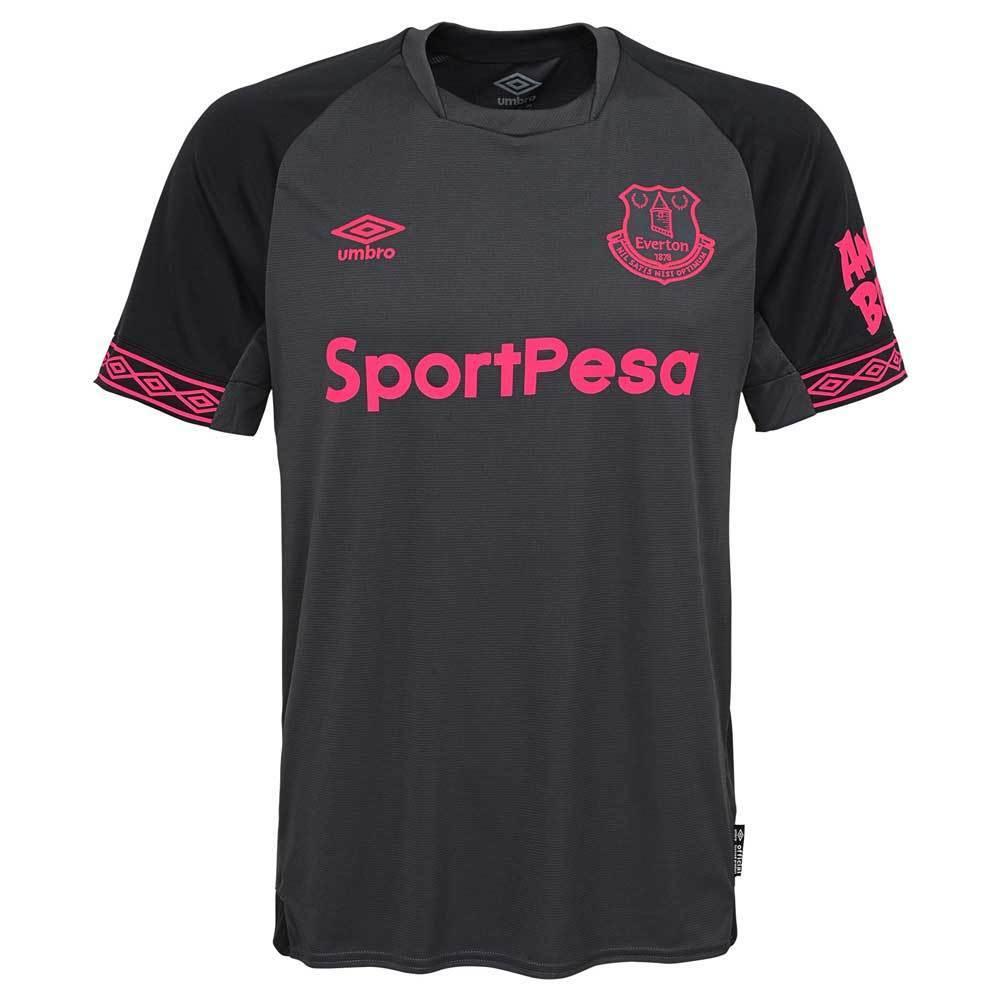 Everdeon Jersey lejos 2018-19 Umbro Auténtico Original Camiseta De Fútbol Negro