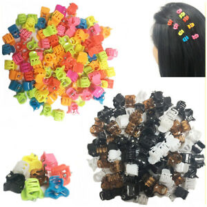 100-Hair-Claw-Mini-Clips-Girl-Mix-Color-Fashionable-Party-Clamps-Jaw-Riser-Clamp