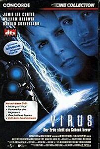 Virus (Action-SCI-FI) con Jamie Lee Curtis, Donald Sutherland, Joanna Pacula