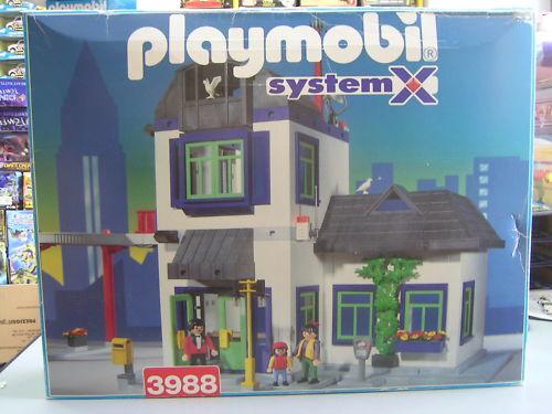 PLAYMOBIL 3988 SYSTEM X NUOVO E SIGILLATO DEL 1997