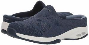 Skechers Womens Commute Low Top Slip On Walking Shoes, Navy/Grey, Size 9.5 DQnN