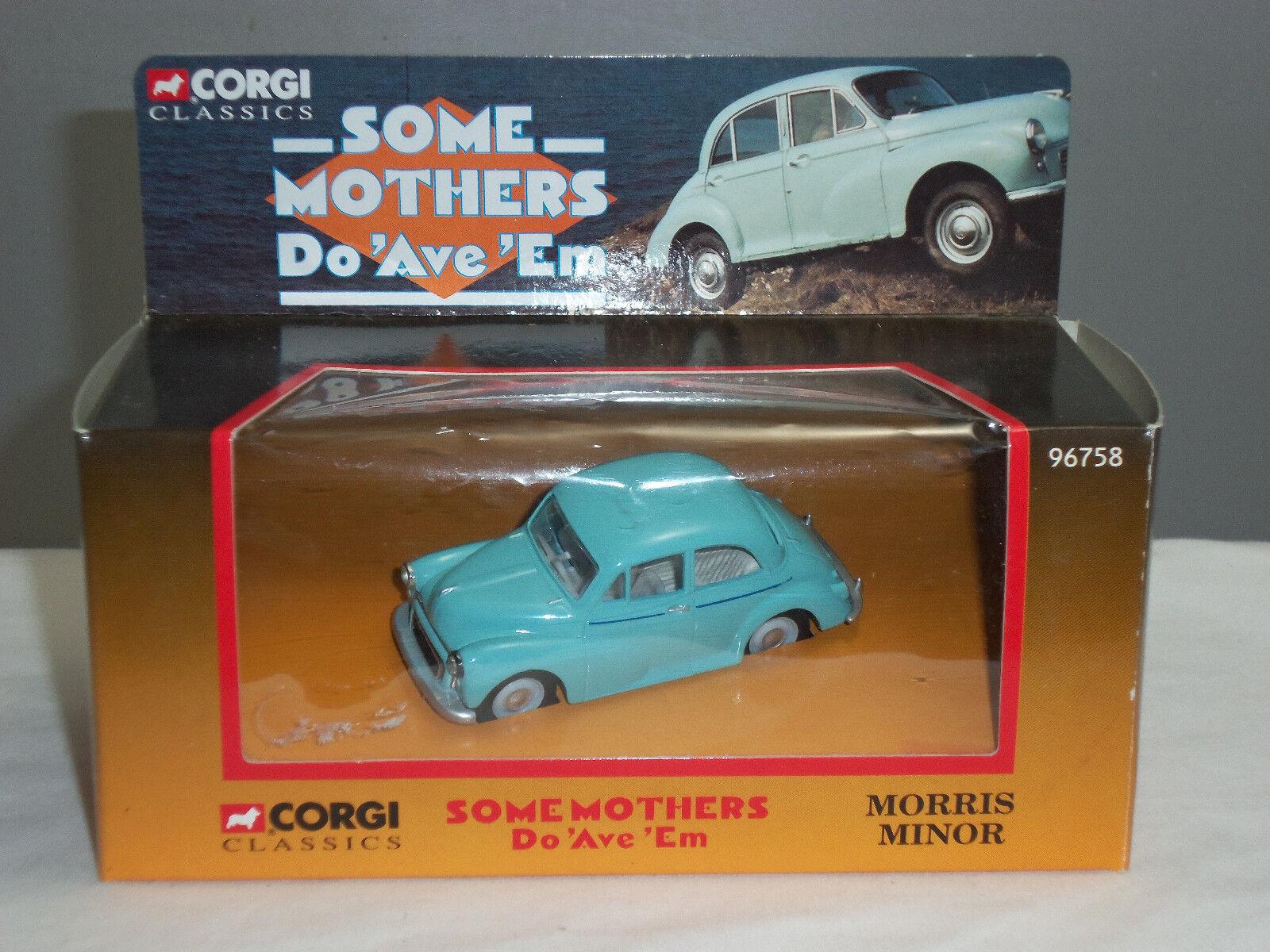 Corgi 96758 algunas madres do Ave em Frank Spencer Morris Minor Diecast Modelo de Coche