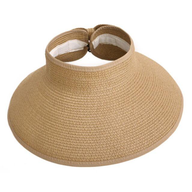 36de49091bdae HDE Women UPF 50 Packable Crushable Roll up Wide Brim Sun Visor ...