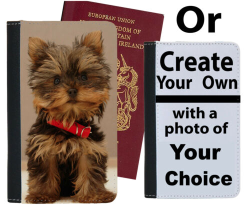 Yorkshire Terrier Passport Holder Terriers Puppy Small Dog Dogs Case Cover si557