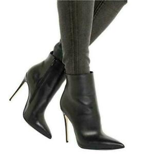 Sexy Womens Punk Ankle Boots Stilettos
