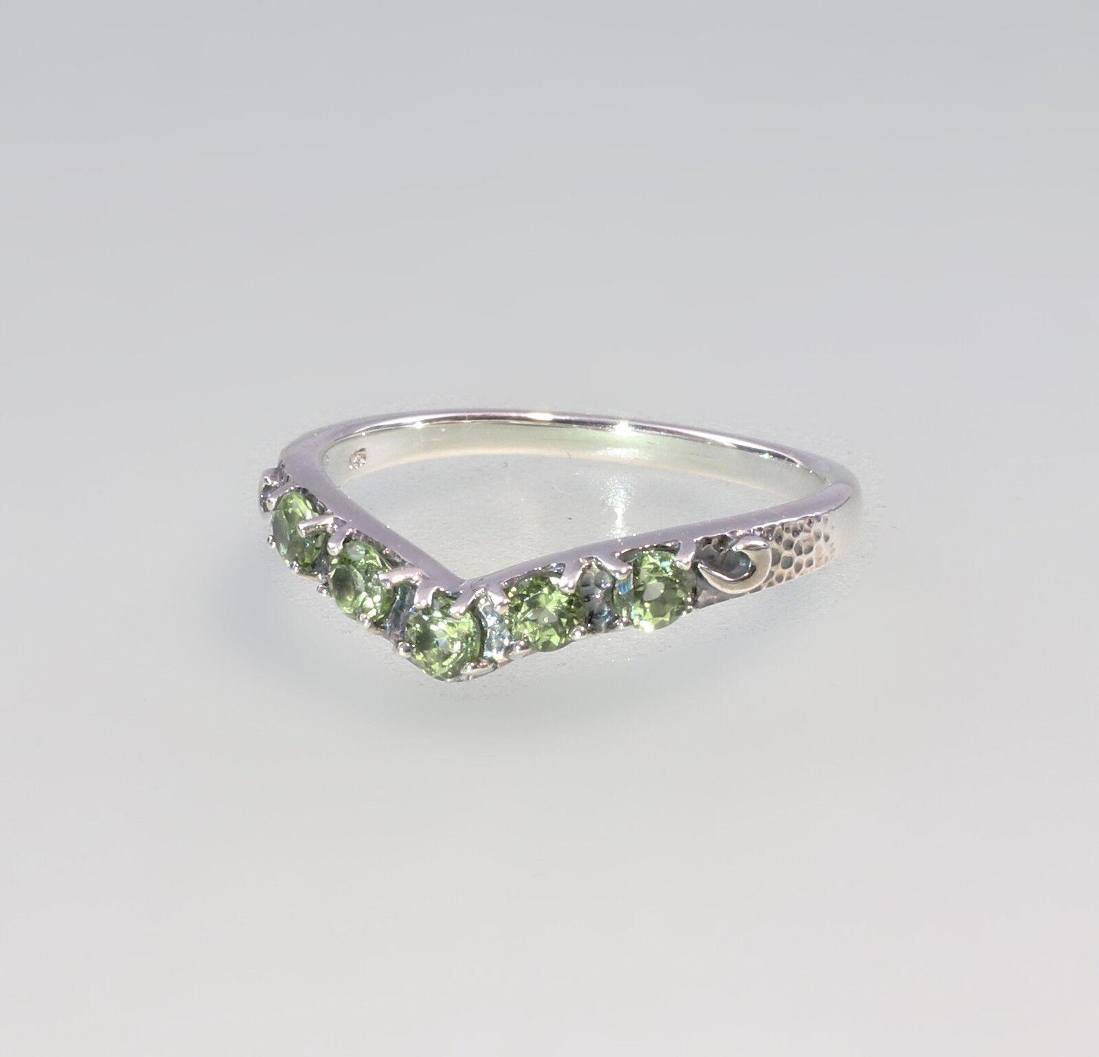 9927136 925 silver peridot-ring gr.57