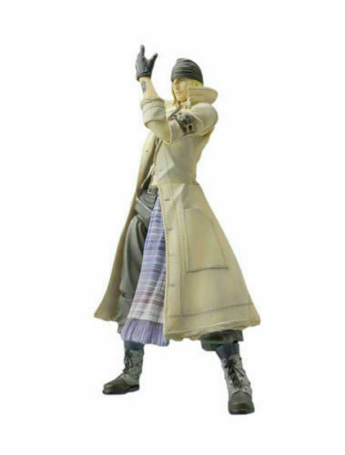 USED Final Fantasy XIII Play Arts Kai Snow Villiers Figure Square Enix