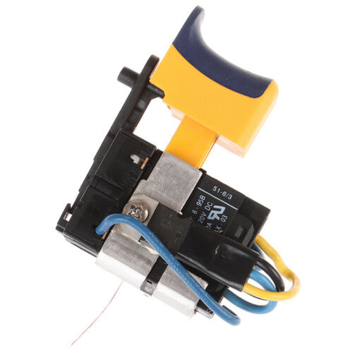 Details about  /12V Lithium Rechargeable Drill Hand Drill Brushed DC Motor Speed SwitchB*kn