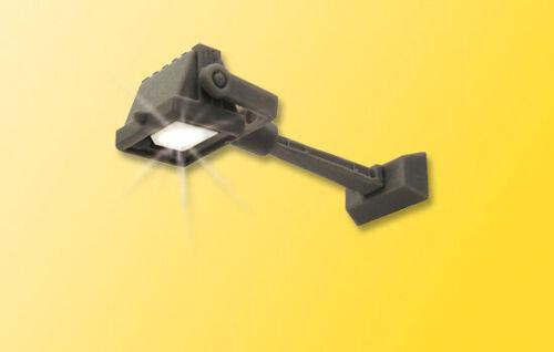 Viessmann 6334 h0 projecteur puissant émetteur avec fixation au mur LED BLANC #neu en OVP #