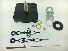 Takane Quartz Battery Clock Movement Fancy Hands 1 Shaft fits 5/8 Dial USA