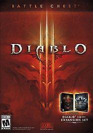 DIABLO-III-3-BATTLE-CHEST-M-PC-MAC-amp-Reaper-of-Souls-Expansion-Set-Brand-New