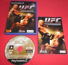 Playstation PS2 UFC Throwdown [PAL-Fr] Two Slim *JRF