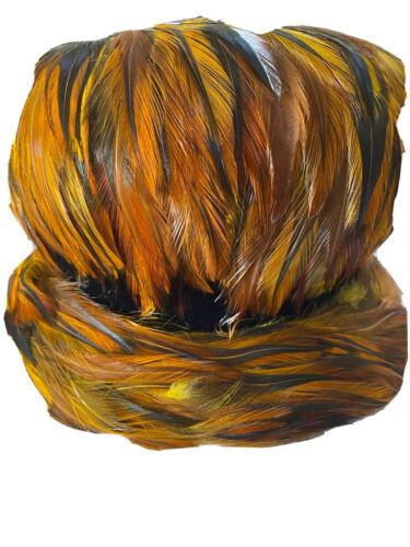 Vintage 1950's Pheasant Womans Hat. Union Made