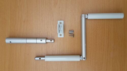 Kurbelstange Griff Kurbel Rolladen Gelenk Kurbelhalter und Kupplung adapter