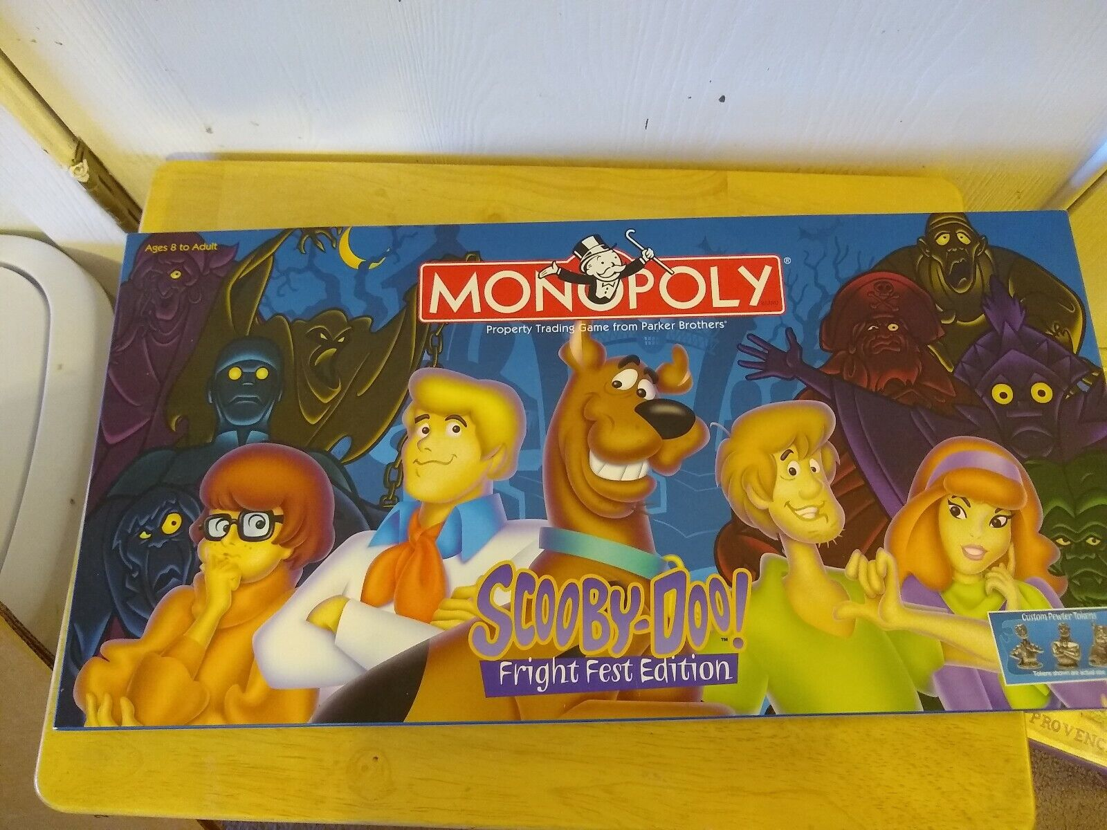 Monopoly Scooby-Doo Fright Fest Edition Property Trading Game