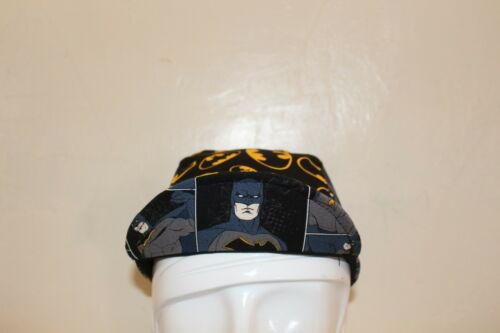 CYCLING CAP BATMAN IN ACTION  100/% COTTON HANDMADE IN USA S//M//L