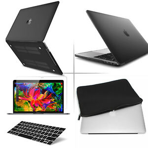 Matte Hard Case Cover Keyboard Cover for 2018 New MacBook Pro 13 Touch Bar A1989