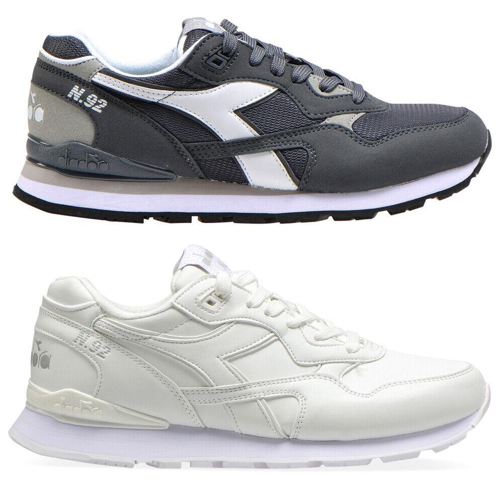 DIADORA N 92 scarpe sportive nero uomo casual ginnastica running sneakers men
