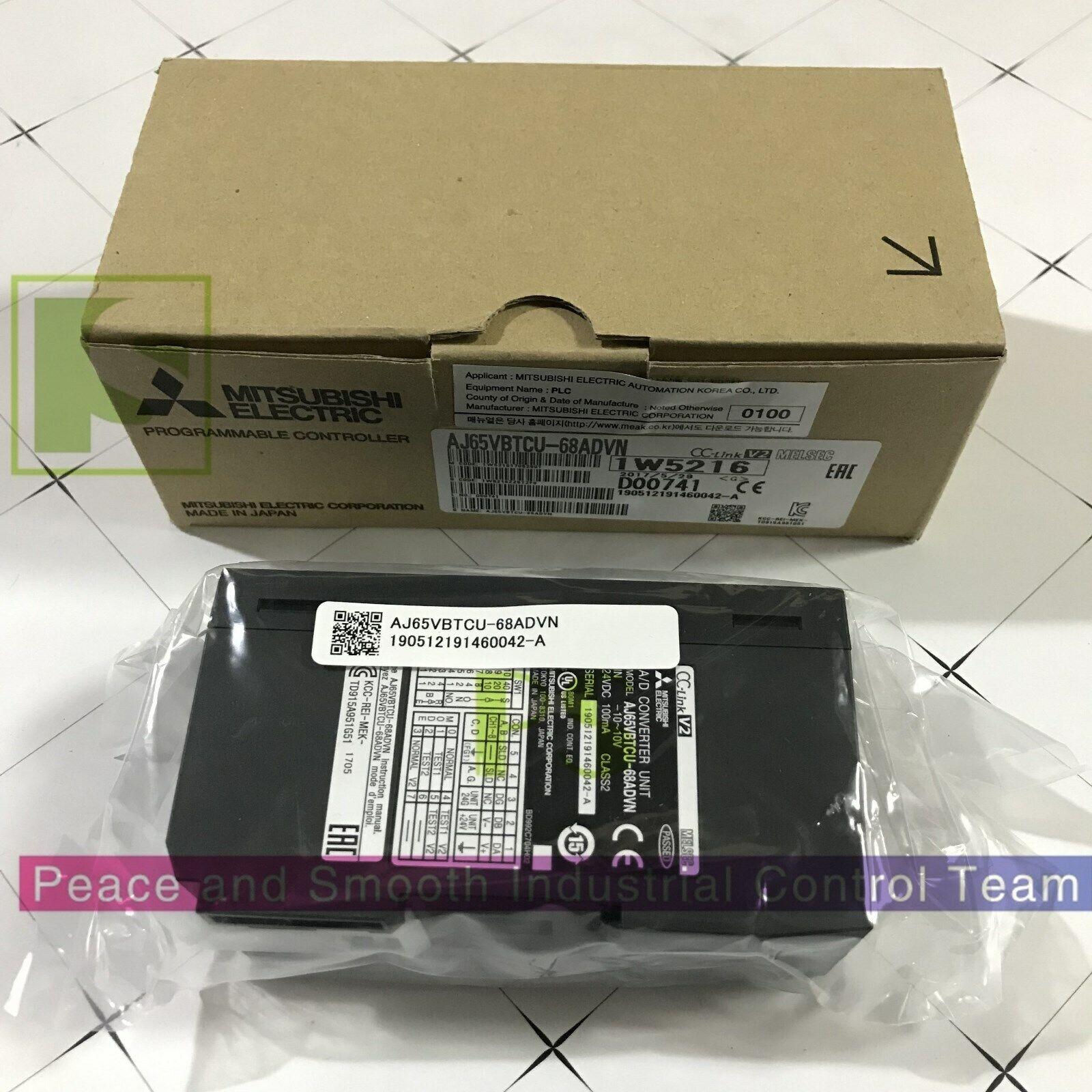 Spotvaror Mitsubishi AJ Serie PLC modul AJ65VBTCU -68ADVN lång garanti