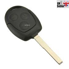 Una Nueva 3 Botones Sin Cortar Remoto Llavero Para Ford focus/mondeo/galaxy / Cmax Etc