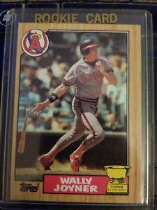 1987-Topps-80-Wally-Joyner-Baseball-Rookie-Card-Gem-Mint-10-ungraded-LA-Angels