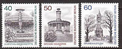 Berlin 1980 Mi Reich Und PräChtig Nr 634-636 Postfrisch Luxus!!