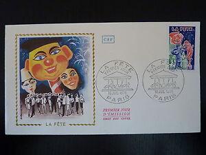 Alerte France Premier Jour Fdc Yvert 1888 La Fete Des Tuileries 1f Paris 1976 Ni Trop Dur Ni Trop Mou