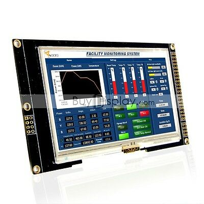 "4.3""inch TFT LCD Module Display w/SSD1963,Capacitive Touch Panel Screen,Tutorial"