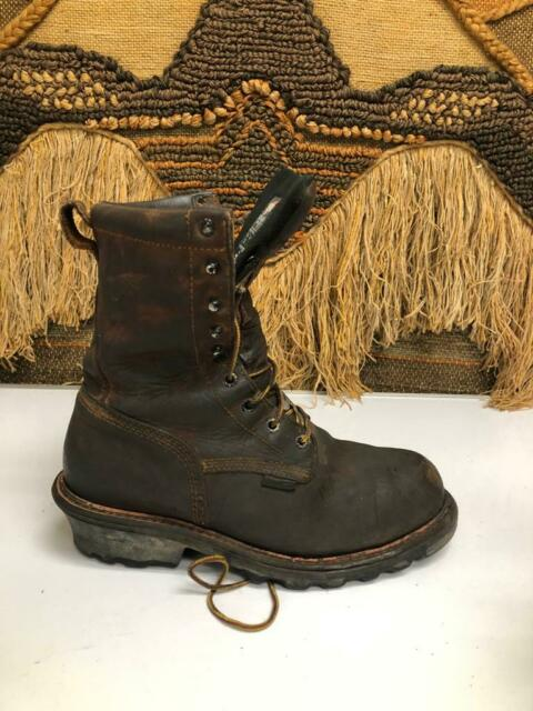 Red Wing Waterproof Logger Work BOOTS