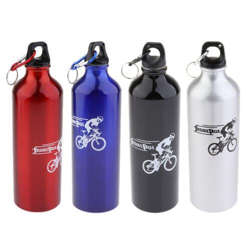 Sport Wasserflasche 700ml Fahrrad Trinkflasche Water Bottle 8x8x26cm
