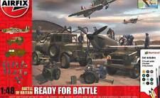 Airfix Set RAF Hurricane MK.I Albion AM463 Bedford MWD Ground Crew + Zubehö 1:48