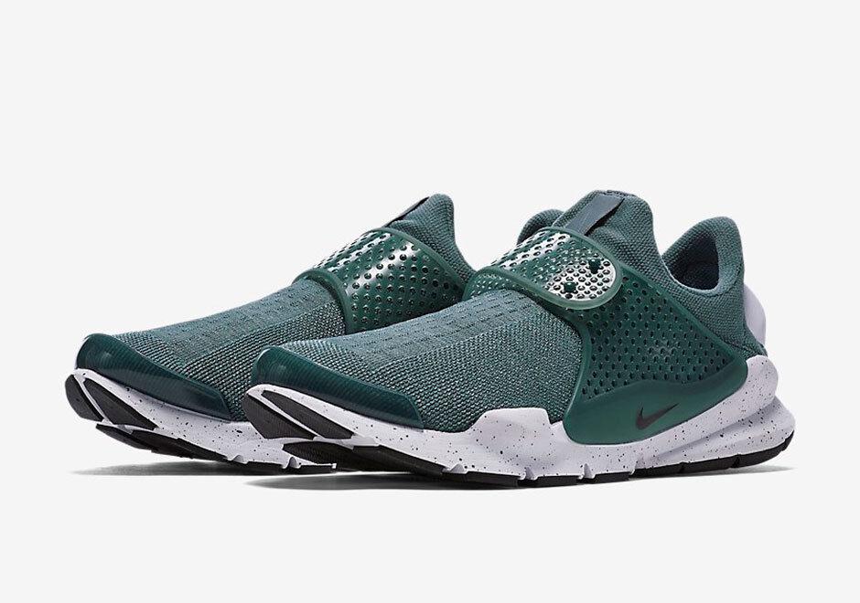 Nike Sock Dart SE Hasta 833124302 Negro Blanco Verde 833124302 Hasta 495d62