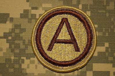 Authentic Rare US Army 3rd Army Cmd Tan Desert DCU Sew On Military Patch