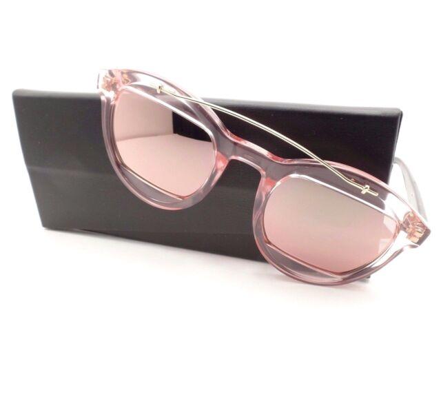 db10da8cbf8 Christian Dior Mania 1 N710j Crystal Rose Havana Mirror Sunglasses Authentic