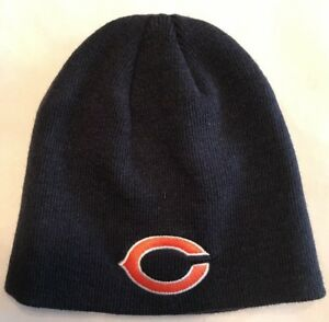nfl team apparel youth chicago bears beanie winter cap. Black Bedroom Furniture Sets. Home Design Ideas