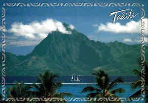 Polynesien-Polynesia-TAHITI-frankiert-Briefmarke-Polynesie-Francaise-AK-stamp