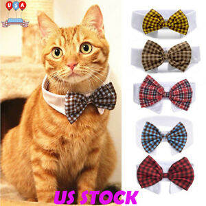 Cute-Pet-Dog-Puppy-Cats-Toy-Bow-Tie-Necktie-Collar-Clothes-For-Wedding-Party-USA