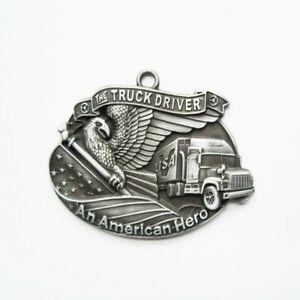 Truck-Driver-Anhaenger-Trucker-Spedition-Lorry-Driver-USA-LKW-Kraftfahrer-US