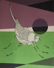 """""""La caline"""" Lithographie de Félix LABISSE"""