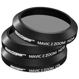 Mavic 2 Zoom Filter Kit (CPL+ND4+ND8) 3-Piece DJI Deco Gear