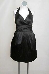 NEW-Satin-Halter-Purple-or-Black-Cocktail-Party-Dress-18-20-22-24-20W-or-22W