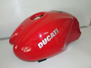 GAS-FUEL-PETROL-TANK-Ducati-MONSTER-S2R-1000-RED-2004-2207-NEEDS-PAINT