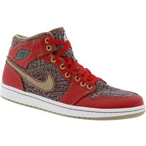 buy popular 0e3ff 63045 Details about 332083-435 New Air Jordan x Levi's 1 I Retro Denim Pack (red  / denim)