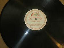 78RPM Jazz Collector L33 Kid Ory's Sunshine, Creole Trombone / Society Blues E-