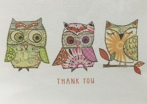 Thank you notecards owls madison park greeting cards 10 in box blank image is loading thank you notecards owls madison park greeting cards m4hsunfo
