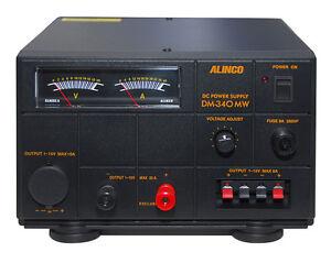 Alinco Dm-340-mw Transformateur Alimentation 30 A Linear 1-15 V Dc Réglables-délai De Livraison Noter-afficher Le Titre D'origine
