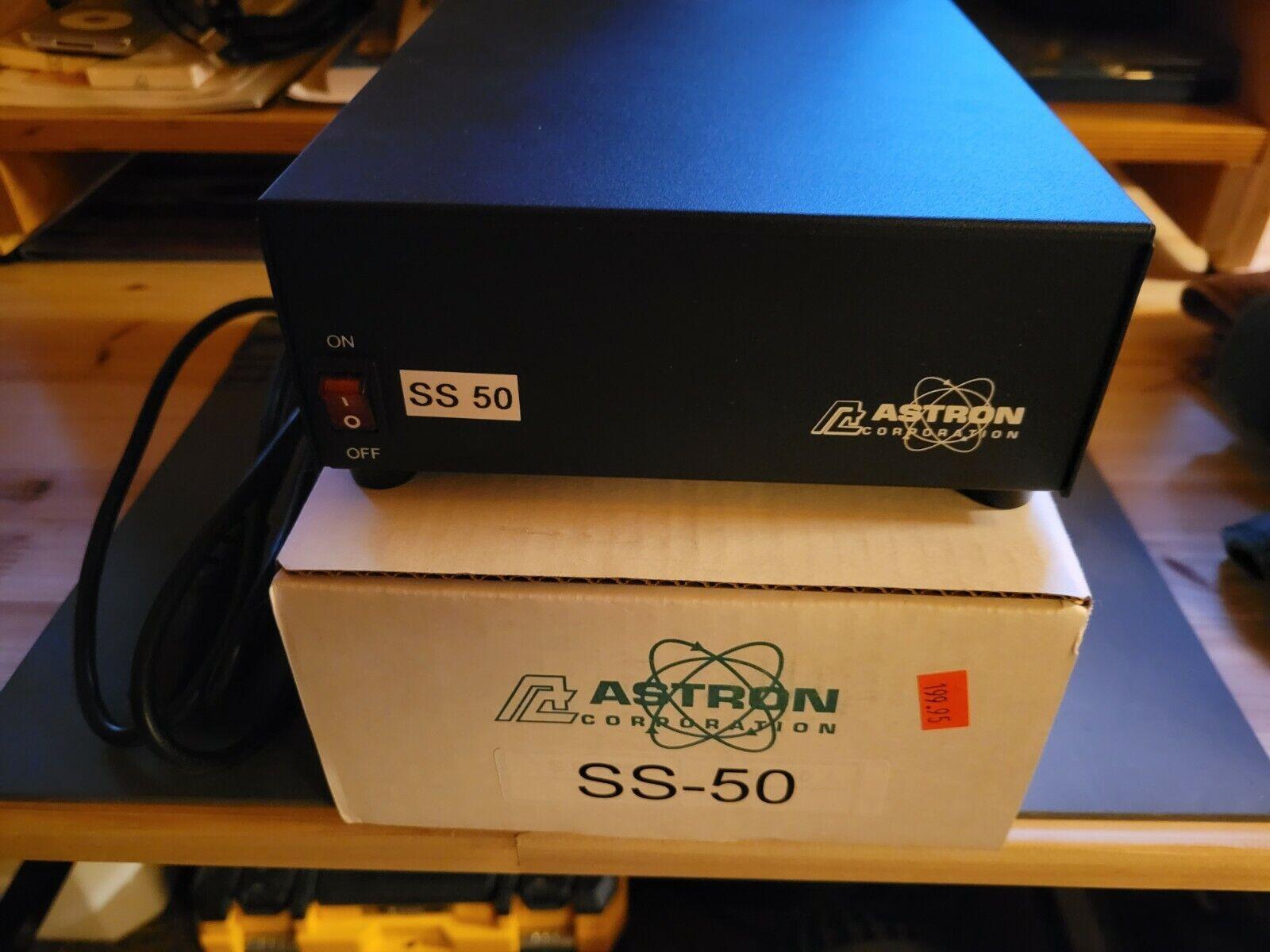 w6gla2010 Astron SS 50 Power Supply