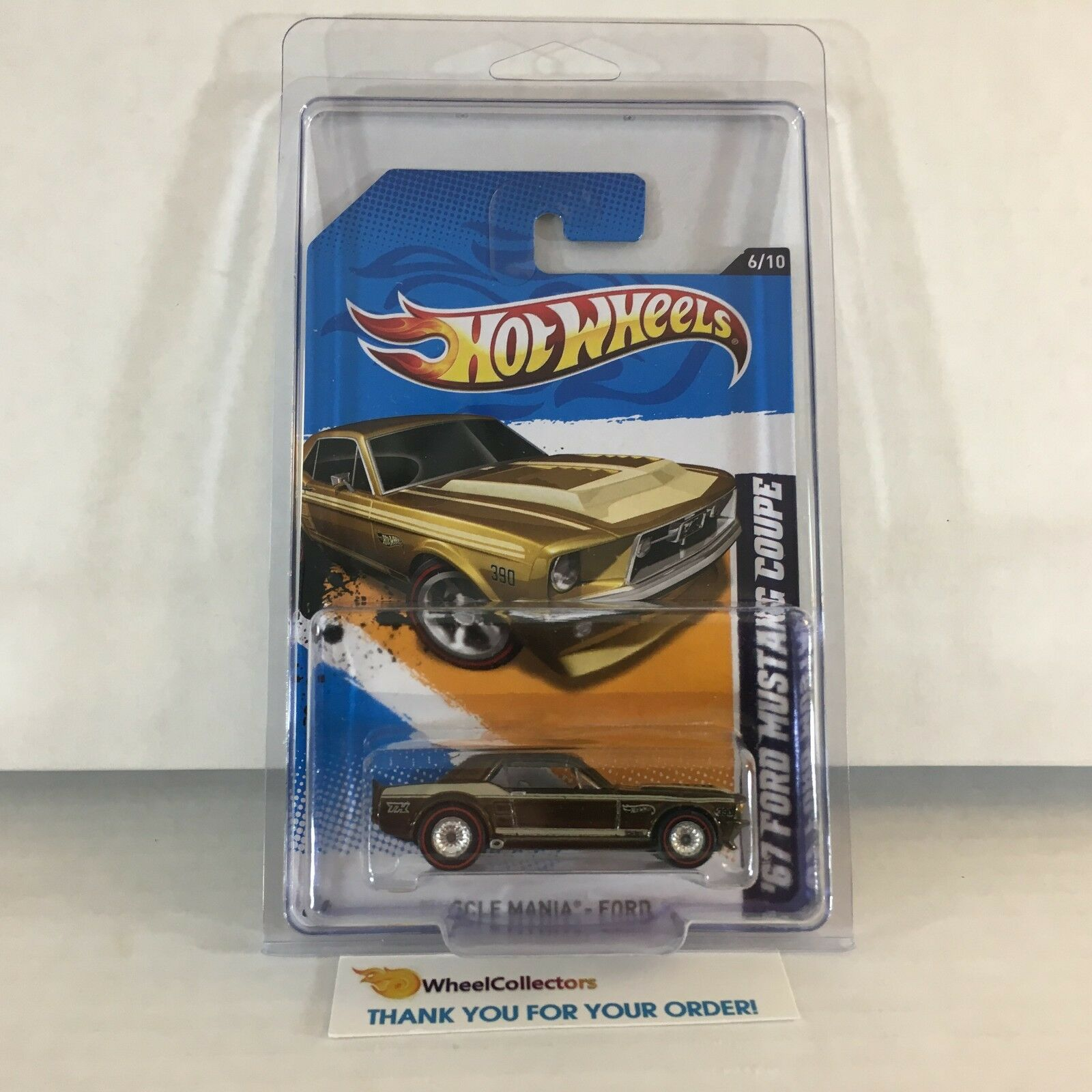 '67 Ford Mustang Coupe  116  Super Treasure Hunt  Hot Wheels 2012  A38